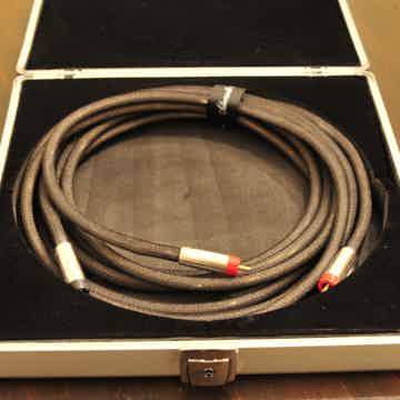 Silver RCA Interconnect Cable