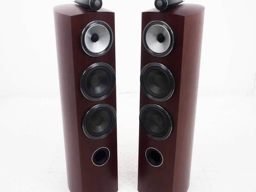 B&W 804 D3 Floorstanding Speakers; Rosenut Pair; Diamond; 804D3 (18819)