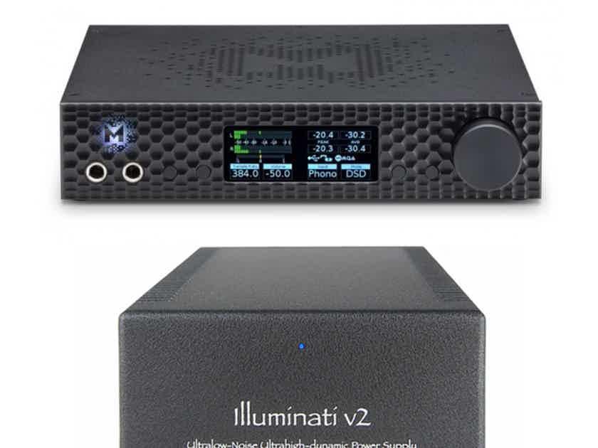Mojo Audio Illuminati V2 Mytek Brooklyn Dac Power Supply