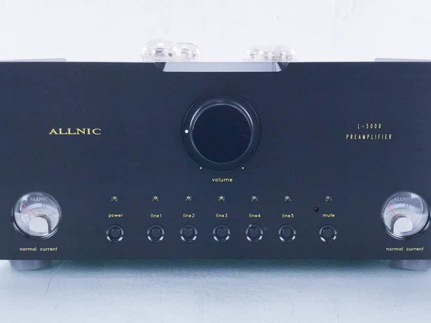 Allnic L-5000 DHT Stereo Tube Preamplifier L5000 DHT (14508)
