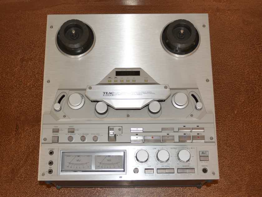 TEAC X-2000R Reel to Reel Tape Player & Recorder -- Very Nice Condition (see pics!)