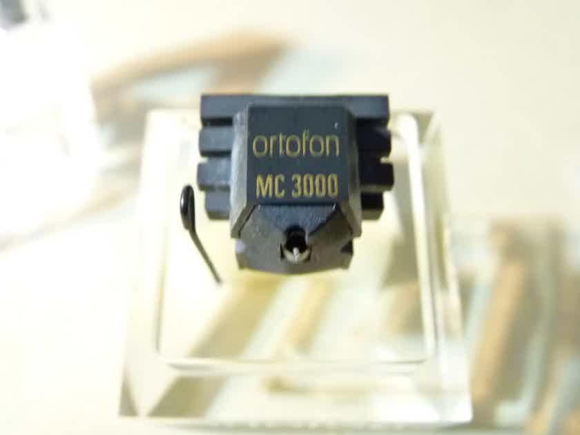 Ortofon MC-3000 mega rare top MC cartridge complete set