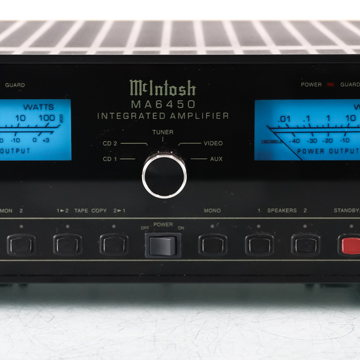 McIntosh MA6450 Stereo Integrated Amplifier