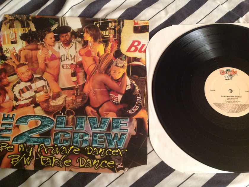 The 2 Live Crew Be My Private Dancer/Table Dance