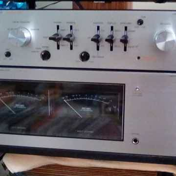 Luxman Model 5C50 Preamp and matching 5M21 Power Amplifier