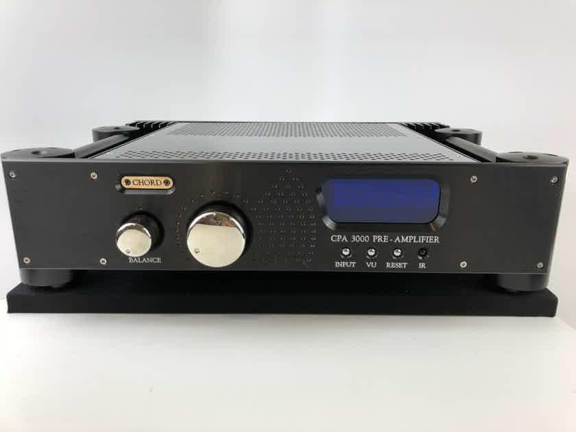 Chord Electronics Ltd. CPA-3000 Seven Input Balanced Signature Preamp, 100V-270V