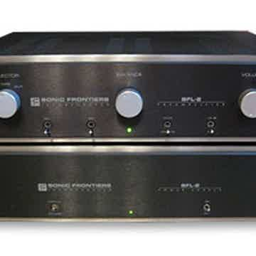 SONIC FRONTIERS SFL-2  Preamp (Black): Fully Refurbished;