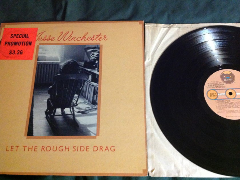Jesse Winchester - Let The Rough Side Drag LP NM