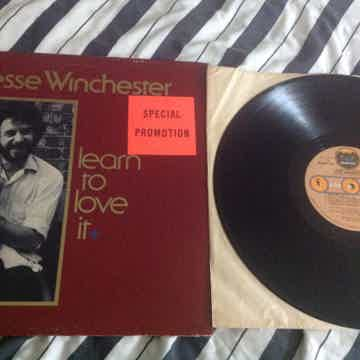 Jesse Winchester - Learn To Love It Promo Vinyl LP NM B...