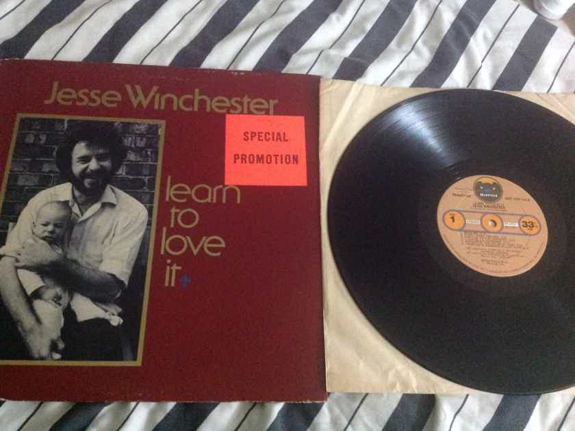 Jesse Winchester - Learn To Love It Promo Vinyl LP NM Bearsville Records