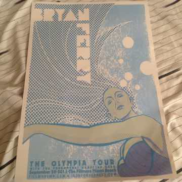 Bryan Ferry The Olympia Tour Poster Fillmore Miami Beach 2011