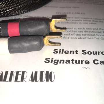Walker Audio Silent Source Speaker Cables