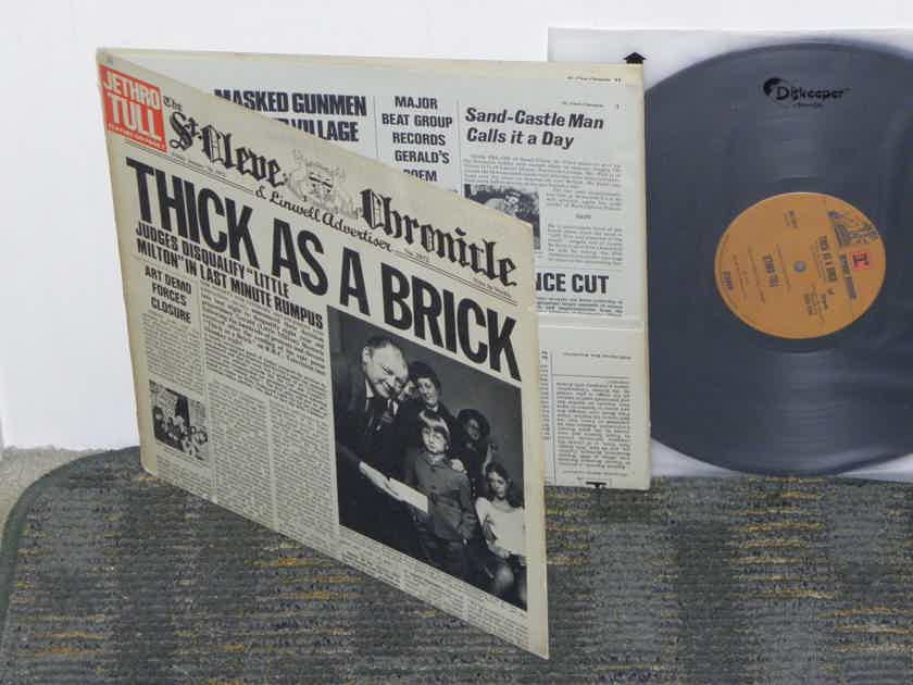 """Jethro Tull Thick As A Brick """"Newspaper"""" 25% off + Free ship"""