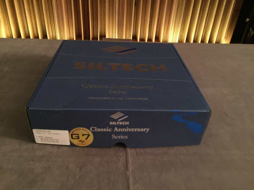 Siltech Cables Classic Anniversary 770i 1.0m XLR Interconnects