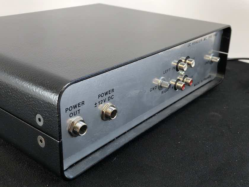 JC Verdier MC PRE PRE - MC (Moving-Coil) Phono Preamp - 220V - SUPER RARE