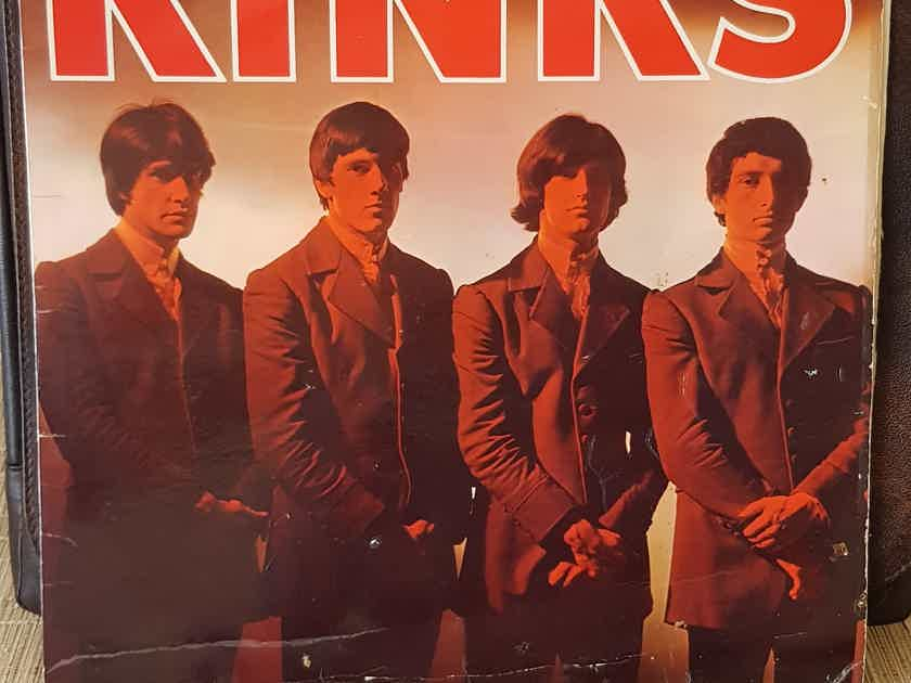 The Kinks Self Titled Original UK Mono SIGNED