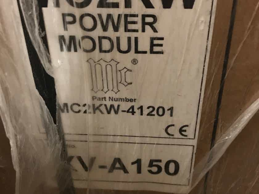 McIntosh MC-2KW 2000 Watt Mono Block Amplifier Pair - MINT