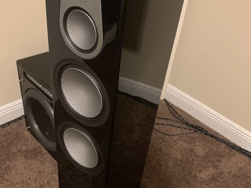 Monitor Audio Silver 6G **month old** 500 C350 50 5.0 setup like new will separate