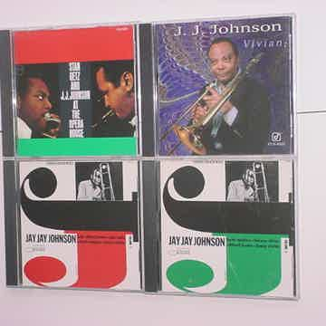 CD LOT OF 4 CD'S JJ Johnson jazz blue note concord