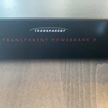 Transparent Audio Powerbank 8