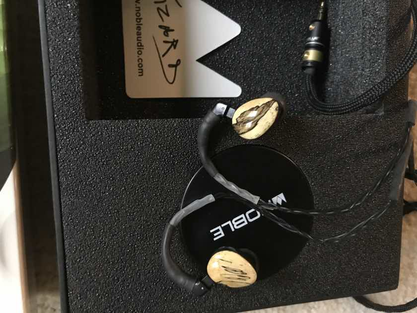 Noble Audio Wizard Sage Iem Bundle with Audeze Isine 20 and Chord Mojo