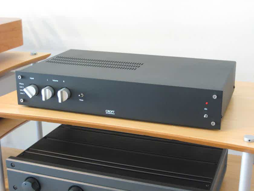 Croft Acoustics Phono Tube Integrated Amp, New, Reduced Prices!