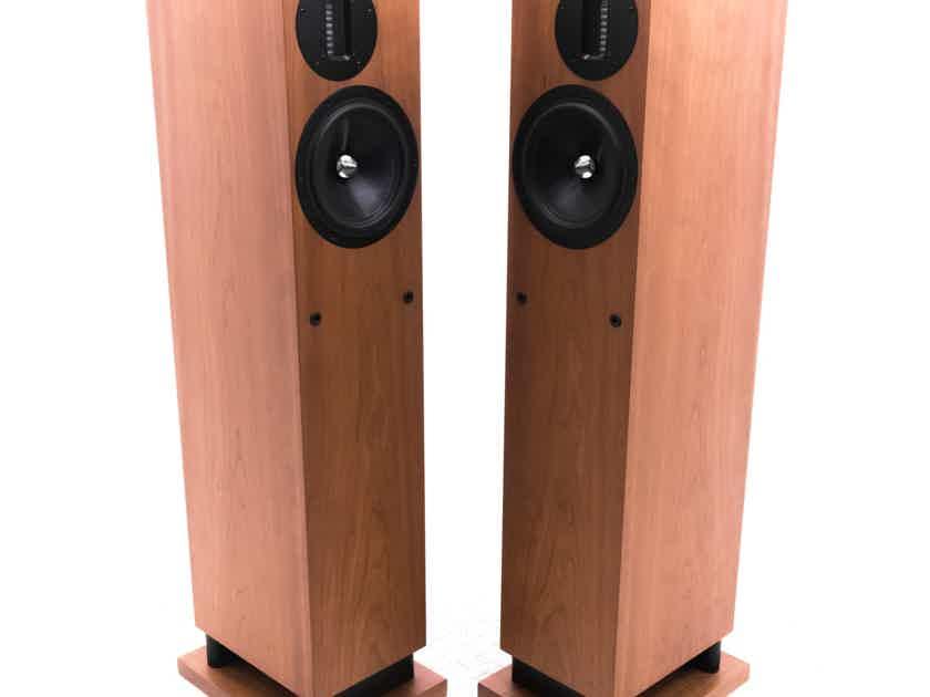 Proac Response D20R Floorstanding Speakers; D20 Ribbon; Cherry Pair (20996)