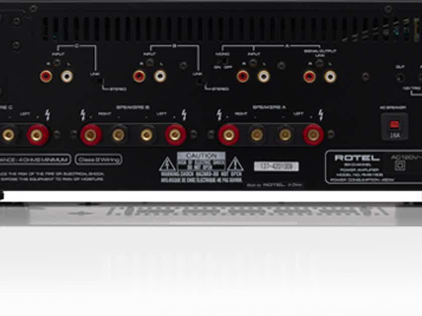 Rotel RMB-1506 - 6 Channel Power Amplifier–Black–NEW & UN-OPEN/Warranty