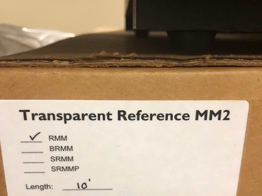 Transparent Audio Reference MM10, Speaker Cable Pair, MM2 Tech, FCPO