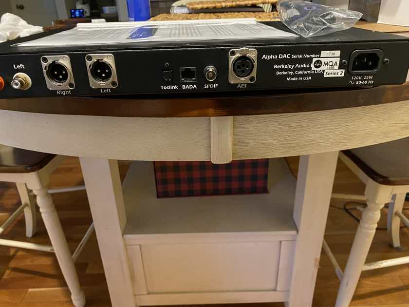 Berkeley Audio Design Alpha DAC Series 2 MQA