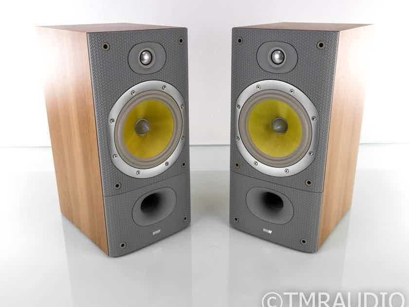 B&W DM602 S3 Bookshelf Speakers; Oak Sorrento Pair (19721)