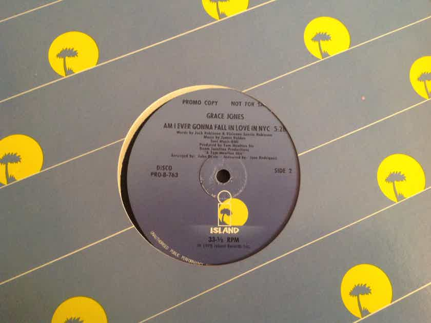 Grace Jones  Fame/Am I Ever Gonna Fall In Love In NYC Promo 12 Inch Single Island Records