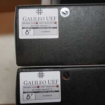 Synergistic Research Galileo UEF Speaker Cables