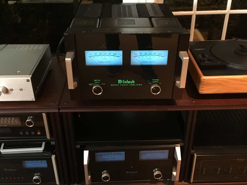 McIntosh MC-602 600Wx2 Most Powerful Mc Stereo Amp