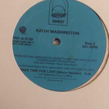 Keith Washington  Make Time For Love
