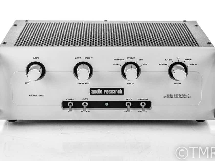 Audio Research SP9 MkIII Stereo Tube Hybrid Preamplifier; MM Phono; SP-9 (22921)
