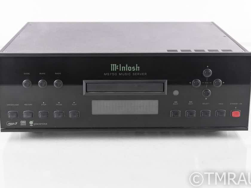 McIntosh MS750 Network Player / CD Ripper; MS-750; 750GB (No Remote) (20917)