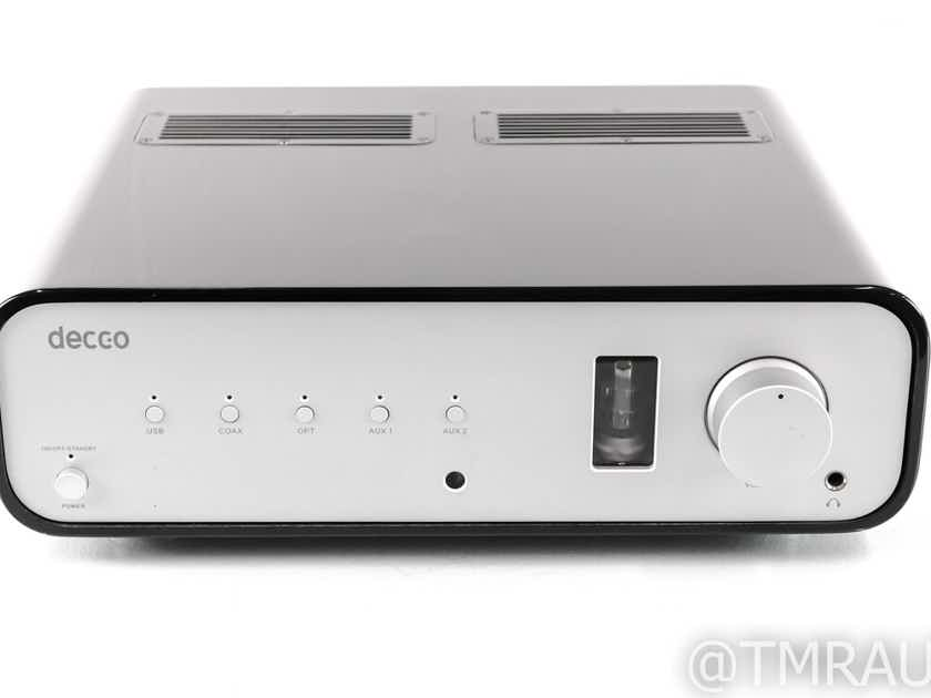 Peachtree Decco Stereo Integrated Amplifier; DAC; Black; AS-IS (Volume Control) (28555)