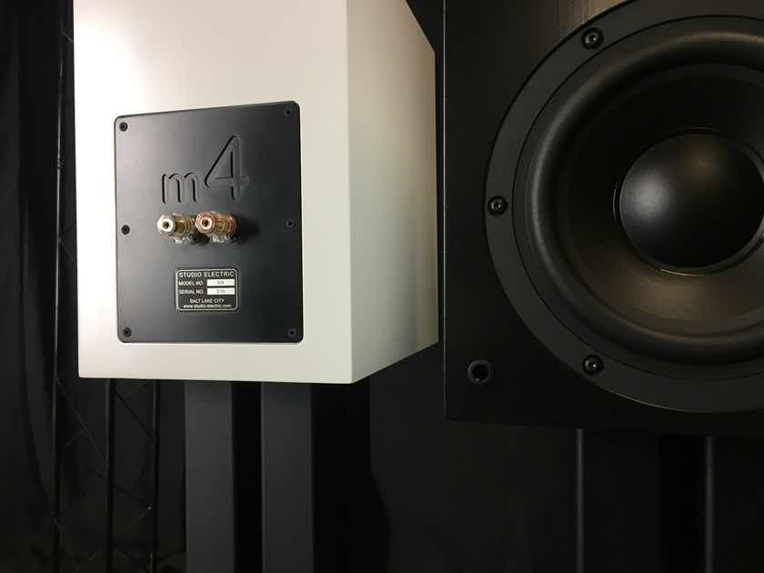 Studio Electric M4 Monitors in White - Summer Sale!