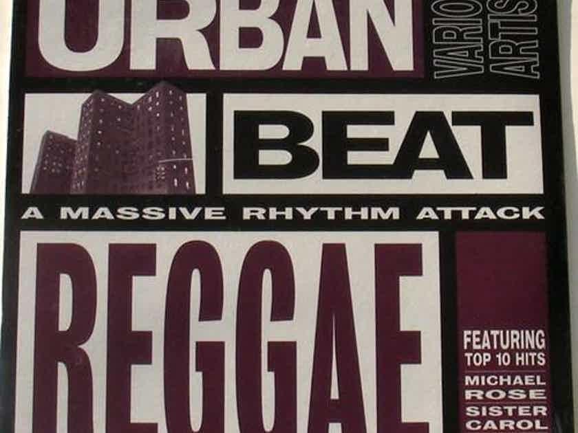 Urban Beat Reggae A Massive Rhythm Attack Michael Rose, Sister Carol, Frankie Paul