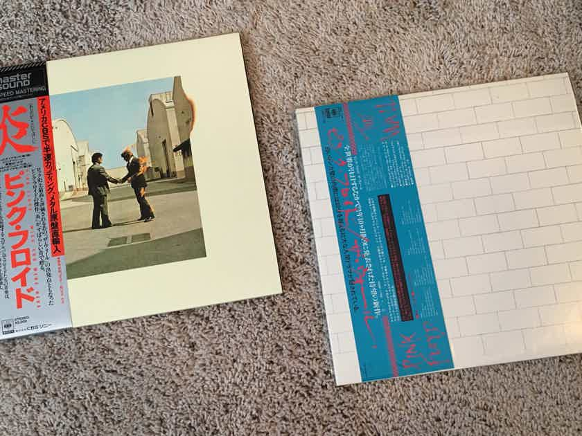 Rare Pink Floyd Japanese Sony/CBS Mastersound - Half Speed Mastered LP - Wish You Were Here (Mint) - Extra Incentive - Free Pink Floyd - The Wall (Mint)