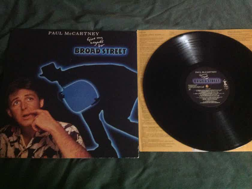 Paul McCartney - Give My Regards To Broad Street Columbia Records 1A-2HZ Stampers Both Sides LP