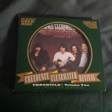 Creedence Clearwater Revival Chronicle Volume Two 24K Gold