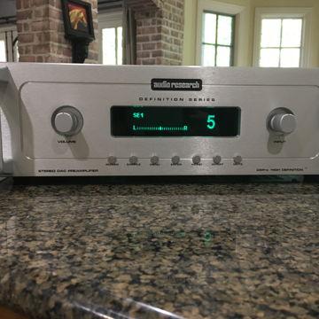 Stereo Preamplifier DAC DSPre