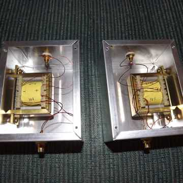 Intact Audio 10:1 Nickel/Copper step up transformers
