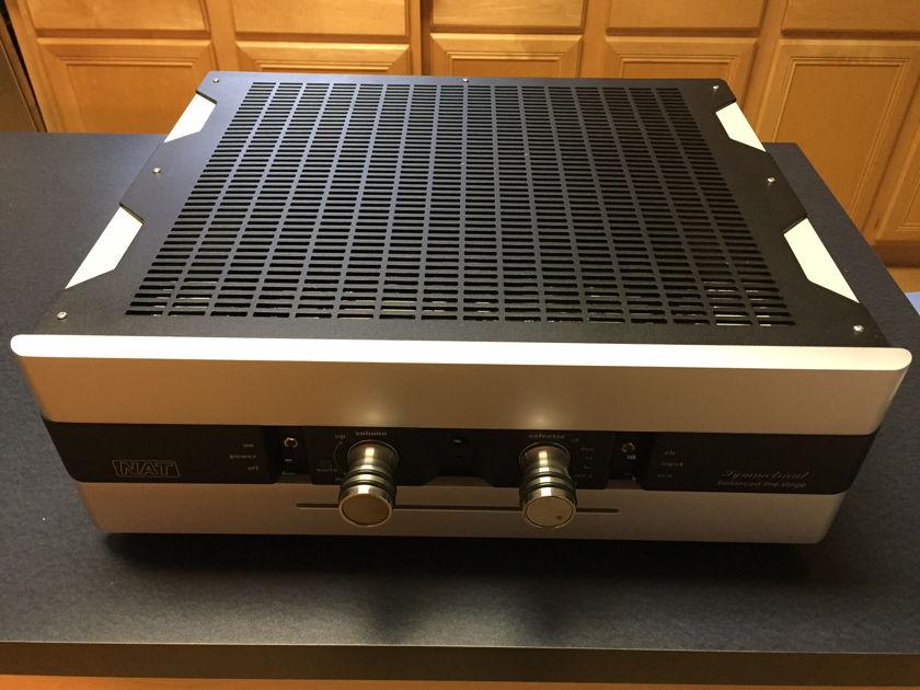 NAT Audio Symmetrical Balanced Dual Mono Zero Feedback Vacuum Tube Pre-Amplifier