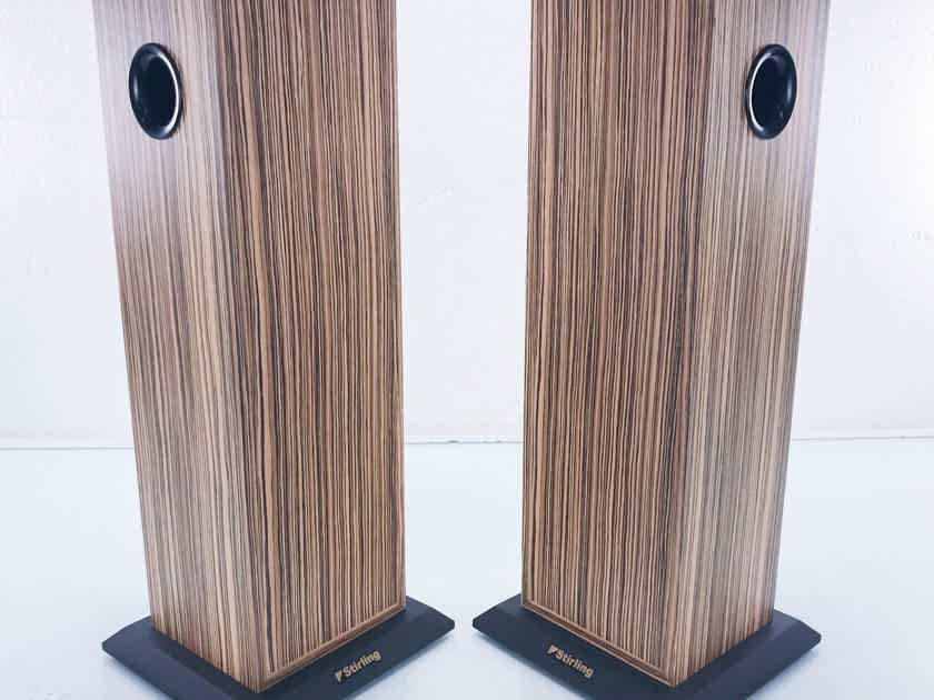 Stirling AB-2 Bass Extenders for LS3/5a Speakers Zebrano Pair (14892)