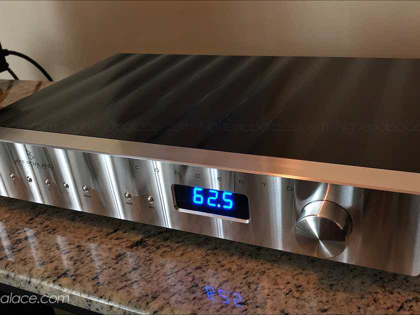 JEFF ROWLAND CONCERTO REFERENCE BALANCED PREAMP, AMAZING!!!