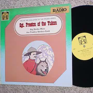 Sgt Preston of the Yukon lp record