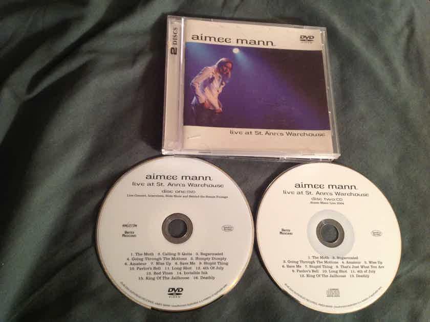 Aimee Mann Live At St. Ann's Warhouse Compact Disc Plus DVD